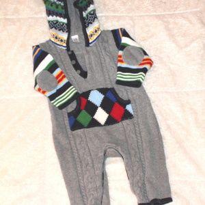 Christmas Winter Baby Gap Boys 3-6 month Set